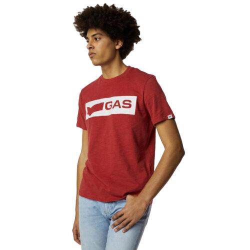 GAS Ανδρικό T-shirt Χρώμα Κοραλί SCUBA/S LOGO PR 99369 54 3240 18 2890 1314-light coral