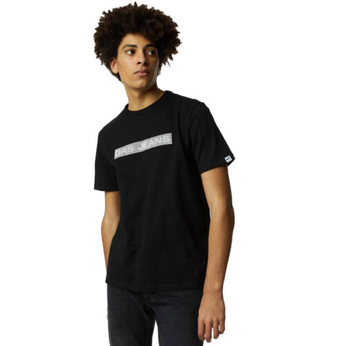 GAS Ανδρικό T-shirt Χρώμα Μαύρο SCUBA/S LINE A1105 54 3377 18 4451 0200-black