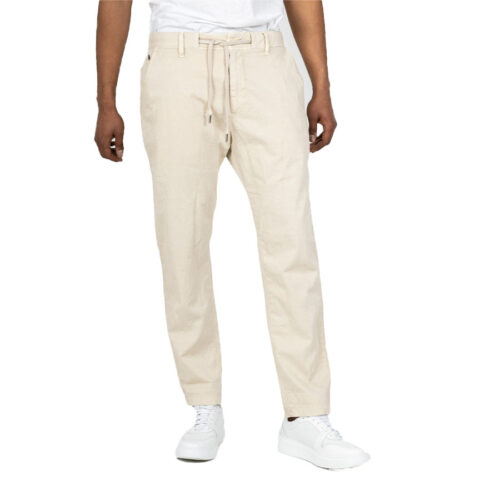 STAFF Λινό Παντελόνι Χρώμα Γκρι/Μπεζ CULTON TAPERED MAN PANT 5-673.923.9.045-grey/beige