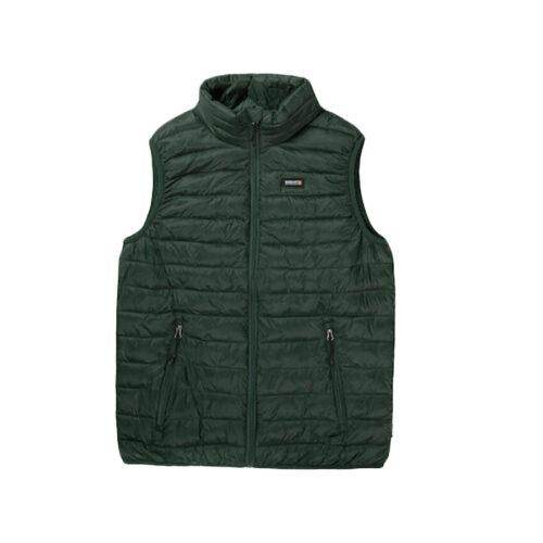 Ανδρικό Αμάνικο Μπουφάν BASEHIT Χρώμα Πράσινο Basehit 202.BM10.141A NL Green