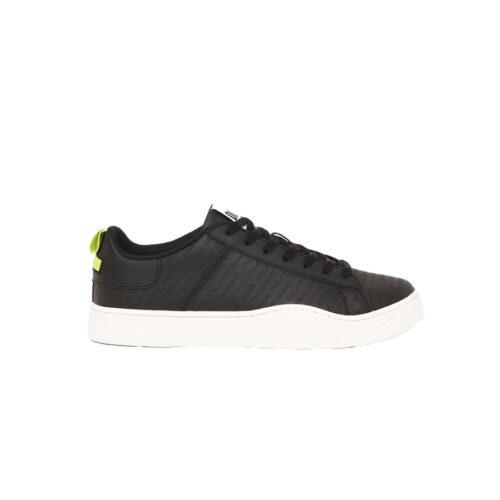 Diesel Ανδρικά Sneakers Xρώμα Μαύρο DIESEL CLEVER S-CLEVER LOW LACE SNEAKERS Y02045-P0968-T8013 black