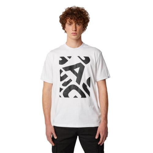 GAS Ανδρικό T-shirt Χρώμα Λευκό DHARIS/R RIB GAS A1108 03 543376 18 4451 0001-white