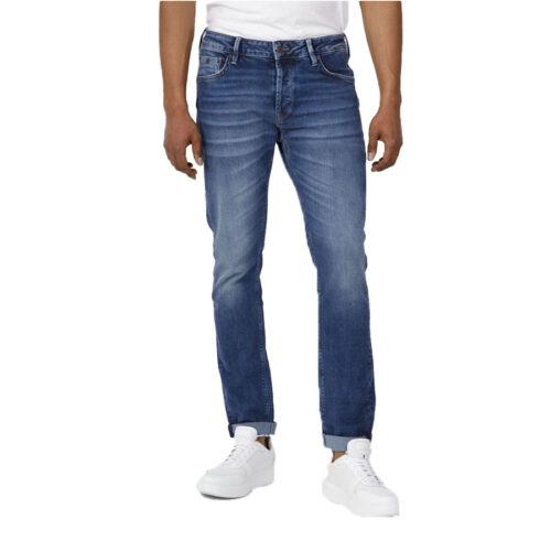 Ανδρικό Παντελόνι Τζιν STAFF Χρώμα Μπλε Simon Man Pant 5-829.585.B2.045-blue