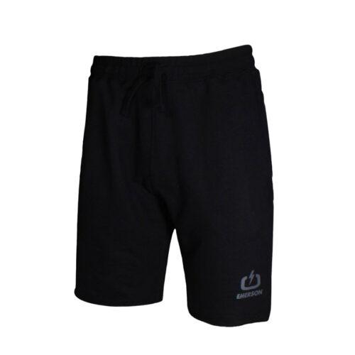 Ανδρική Μακό Βερμούδα EΜERSON Χρώμα Μαύρο Emerson Men's Sweat Athletic Shorts 211.EM26.37 black