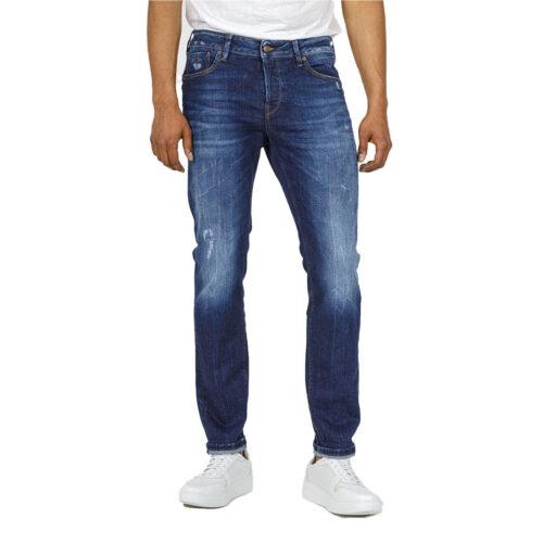 Ανδρικό Παντελόνι Τζιν STAFF Χρώμα Μπλε Simon Man Pant 5-829.585.S2.045-blue