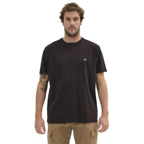 Ανδρικό T-Shirt Emerson Χρώμα Μαύρο EMERSON BASIC T-SHIRT 211.EM33.79-black