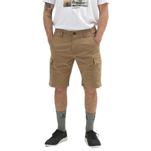 Ανδρική Cargo Βερμούδα EΜERSON Χρώμα Μπεζ Emerson Men's Stretch Cargo Short Pants 211.EM47.95-beige