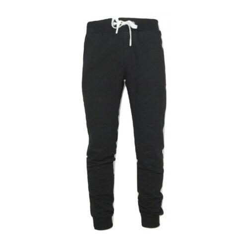 Aνδρικό Παντελόνι Φόρμας PACO & CO Χρώμα Μαύρο Men's Jogger Pant 200309-black