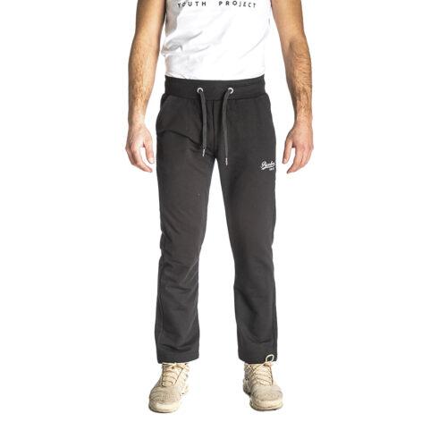 Aνδρικό Παντελόνι Φόρμας PACO & CO Χρώμα Μαύρο Men's Jogger Pant 200305-black