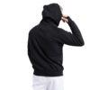 Emerson Ανδρική Φούτερ Ζακέτα Χρώμα Μαύρο Men's Hooded Zip up Sweat 212.EM21.34-black