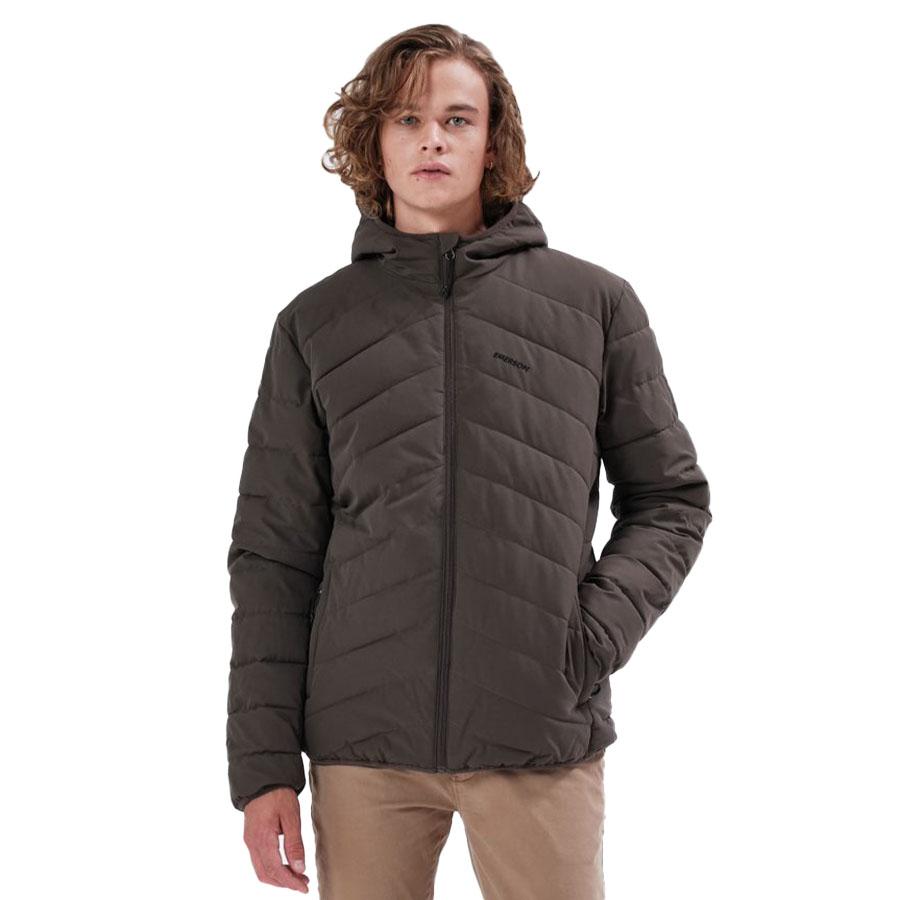 Emerson Ανδρικό Μπουφάν Χρώμα Χακί Men's P.P. Down Jacket with Hood 212.EM10.29 Κ9 KHAKI