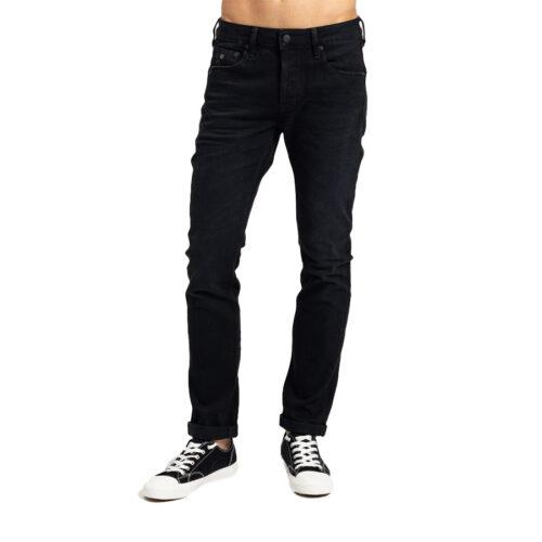 Ανδρικό Παντελόνι Τζιν STAFF Χρώμα Μαύρο Simon Man Pant 5-829.766.BL.046-black