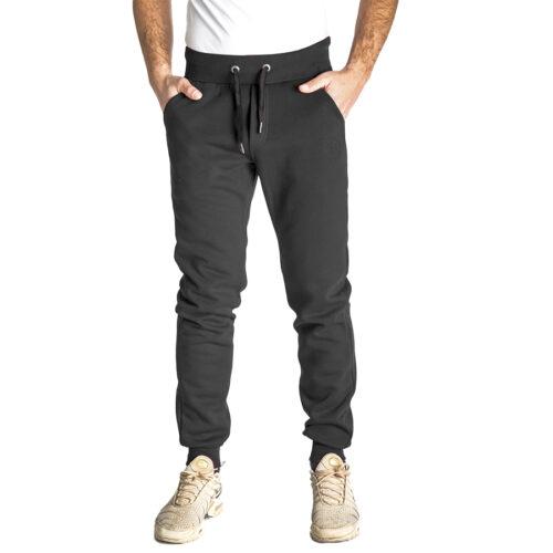 Aνδρικό Παντελόνι Φόρμας PACO & CO Χρώμα Μαύρο Men's Jogger Pant 218664-black