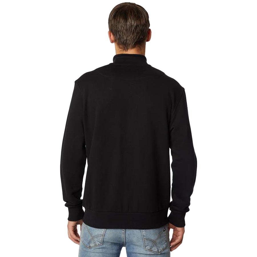 Ανδρική Φούτερ Ζακέτα GAS Χρώμα Μαύρο LUSTIG/R OPEN G A2180 552506 185006 0200-black